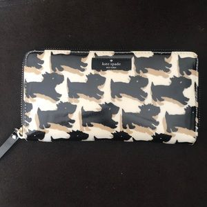 Kate Spade Scottie Dog Wallet